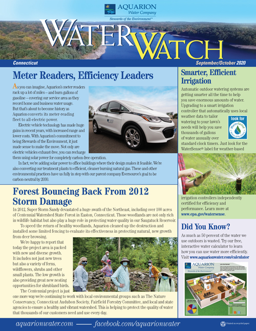 Water Watch September/October Issue