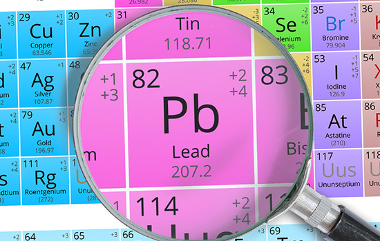 lead in periodic table